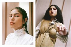 """London-based photographer Mikko Puttonen creates drama with moody lighting and superb styling in """"Afternoon Skin"""" for Teeth Magazine Online."""