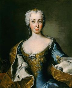1730s - Maria Theresia of Austria by Gabriello Mattei