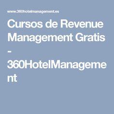 Cursos de Revenue Management Gratis - 360HotelManagement