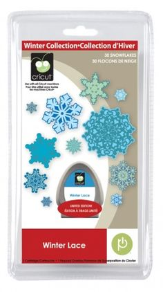 Provo Craft Cricut Seasonal Cartridge - WINTER LACE Cricut Cartridge