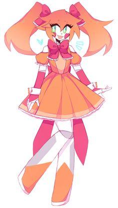 minx's art blog Anime Fnaf, Kawaii Anime, Anime Art, Five Nights At Anime, Fnaf Baby, Fnaf Wallpapers, Villainous Cartoon, Fnaf Sister Location, Circus Baby