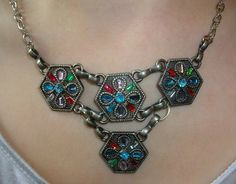 One-Of-A-Kind Recycled Necklace by TaylorsArtsAndCrafts on Etsy