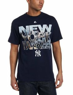 MLB New York Yankees City Window Short Sleeve Basic Tee Men's Majestic. $13.77