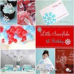 Project Nursery: Little Snowflake 1st Birthday Party!   The TomKat Studio