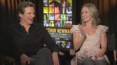 Arthur Newman: Emily Blunt & Colin Firth Talk His Body Function Name