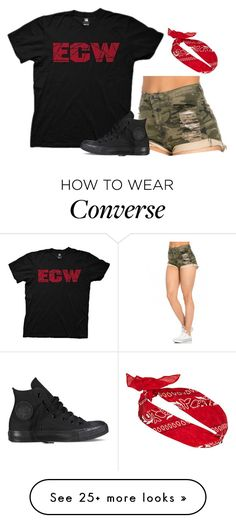 """ECW!"" by simplysavvy on Polyvore featuring Converse"