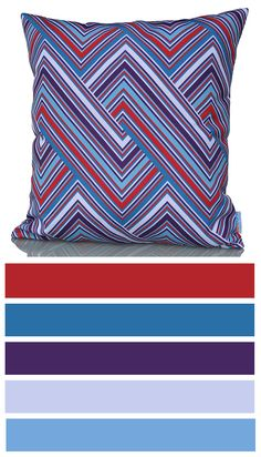 Geometrical line and triangle pattern - Classy cushion cover! http://www.sunburstoutdoorliving.com/collections/online/products/classy-cushion-cover