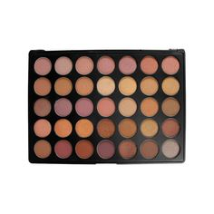 This 35 colored warm neutral palette will easily become your favorite palette because of its versatility. Featuring matte and shimmer shades, you can create beautiful day looks or glamorous night time