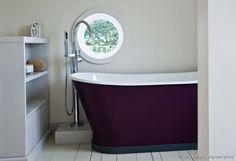 Peindre lavabos sur pinterest robinets de cuisine peindre comptoirs de sal - Comment peindre une baignoire ...