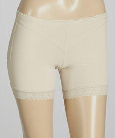 Look at this #zulilyfind! Nude Powernet Cutout Shaper Shorts - Women & Plus #zulilyfinds
