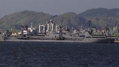 Navio Tanque Marajó da Marinha do Brasil