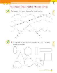 Resultado de imagen para fichas de trabajo con rectas y curvas