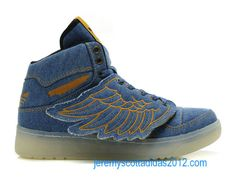 buy popular 98a47 6a401 Womens Jeremy Scott Denim JS Wings Adidas Shoes 2012 Jeremy Scott, Unique  Shoes, Cute