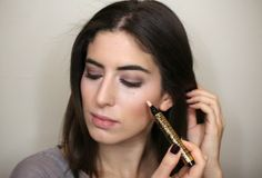 USING YSL TOUCHE ÉCLAT TO HIGHLIGHT
