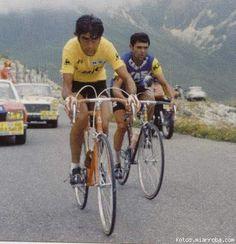 Luis Ocaña: siempre pedaleando en el filo de la navaja.