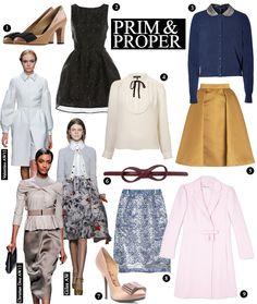 Prim and Proper: This Season's Most Ladylike Picks