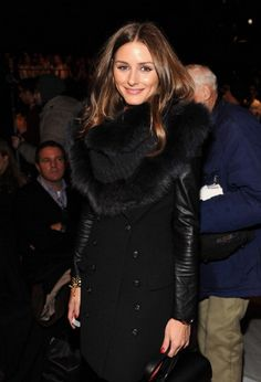 Olivia Palermo At Carolina Herrera