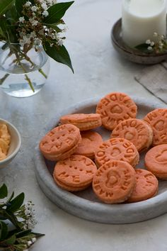 Orange Cream biscuits, a traditional biscuits that reminds me always about my childhood. Dust in some flour and roll your favourite biscuits ...