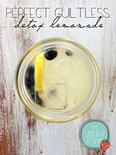 Perfect Guiltless Detox Lemonade — The Skinny Fork