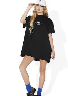 Lazy Oaf Hello Kitty Oversized T-Shirt