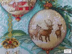 "Gallery.ru / Фото #8 - Новогодний сапожок (Dimensions 08854, ""Enchanted Ornament St - SSRapteva"