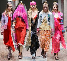 Meadham Kirchoff Love the veils and crowns