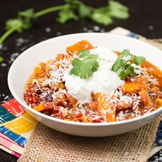crockpot sweet potato chicken chili healthyaperture com more crockpot ...