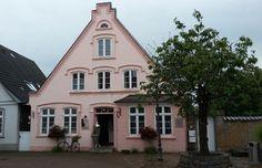 rosa Haus in Kappeln, Foto: S. Hopp