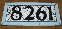 more mosaic house numbers. @Phoenix Handcraft