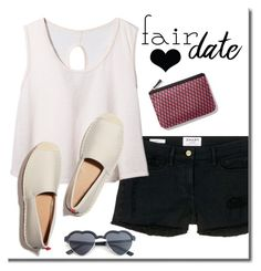"""""""I heart the fair"""" by adduncan ❤ liked on Polyvore featuring Frame Denim, Pierre Hardy, statefair and summerdate"""