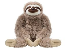 Cuddlekins Jumbo Sloth Plush Stuffed Animal by Wild Republic, Kid Gifts, Zoo Animals, 30 Inches, White Giant Stuffed Animals, Stuffed Toy, Sloth Sleeping, Giant Plush, Pet Pigs, Zoo Animals, Plush Animals, Cuddling, Cartoons