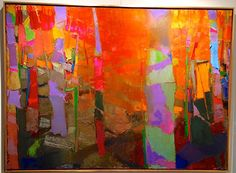 """Exceptional """"abstract art paintings acrylics"""" information is offered on our site. Abstract Painters, Oil Painting Abstract, Abstract Trees, Contemporary Abstract Art, Modern Art, Poster Design, Paintings I Love, Art Paintings, Art Plastique"""