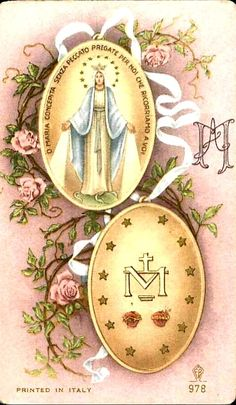 Mother Of Christ, Blessed Mother Mary, Divine Mother, Blessed Virgin Mary, Catholic Pictures, Vintage Holy Cards, Jesus Christ Images, Mama Mary, Christian Religions