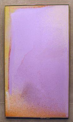 jules olitski violet painting