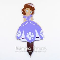 Cake Topper Sofia The First