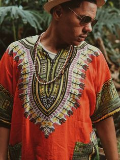 Dashiki Day and Beyond with Black Owned Brands - Shop With Leslie Ancient Egyptian Jewelry, Dashiki, African Fashion, Sari, Shopping, Clothes, Collection, Black, Life