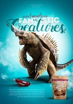 """Fantastic Creatures"" is a new STORM internal project inspired by our big love for pets, animals and beasts. These very friends of us are very welcome in our studio so we thought to pay a small and funny tribute to them and the friendship they give us e… Great Ads, Big Love, Cgi, Concept Art, Beast, Creatures, Studio, Funny, Animals"