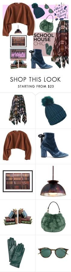 """""""Work Hard, Play Hard: Finals Season"""" by nicolevalents ❤ liked on Polyvore featuring Sacai, Miss Selfridge, Uniqlo, self-portrait, Troy and Charter Club"""