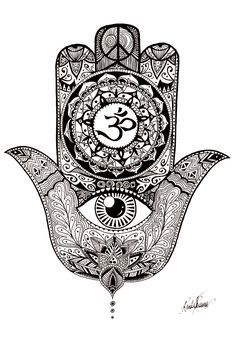 Hamsa More Pins Like This At FOSTERGINGER @ Pinterest