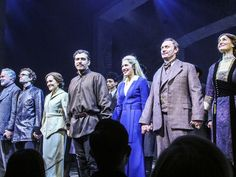 The cast of DOCTOR ZHIVAGO
