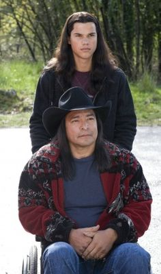 Quileute tribe Billy Black and Jacob Black in the first Twilght movie