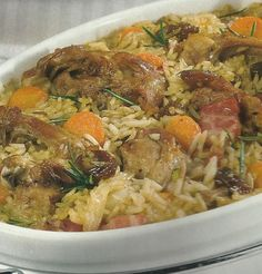 Entree Recipes, Wine Recipes, Great Recipes, Easy Cooking, Cooking Recipes, Risotto, Portuguese Recipes, Portuguese Food, Fries In The Oven