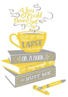 Books & Tea  #relaxwithsussan