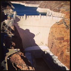 Hoover Dam just outside Vegas NV/AZ boarder it's amazing to see what people built in 1934!