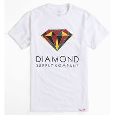 Diamond Supply Co Colors Tee ($30) ❤ liked on Polyvore