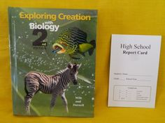 Apologia Exploring Creation with Biology Text, LN Science, Homeschool / School #Textbook