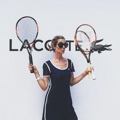 #RobertaRuiu Roberta Ruiu: Finally Back to Milano for LACOSTE  — @LACOSTE I'm Ready!!!!!!!! — Prontissima  — #TorneoLacoste #Lacoste #tennis #tennisclubambrosiano #milano #match #champion #celebrating #LT12 #racket #wilson #ootd #lacoste #winner #sporty #girly #fashionable