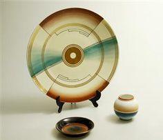 Nora Gulbrandsen (1894-1978) for Porsgrund Porselen, fat og vase (3)