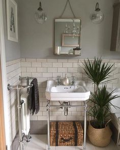 Traditional bathroom 94575660912873063 - Lights Have you used our tiles in your home? Share your creation with us today to get featured with hundreds of stunning customer photos. Bathroom Styling, Bathroom Interior Design, Home Interior, Bathroom Renos, Aqua Bathroom, Bathroom Taps, Bathroom Wall Lights, Metro Tiles Bathroom, Home Decor