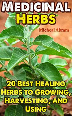 Medicinal Herbs: 20 Best Healing Herbs to Growing, Harvesting, and Using: (Alternative Medicine, Herbal Medicine, Herbs, Homeopathy, Herbs for Hormonal ... Medicinal Plants, Herbs For Weight Loss,) by [Abram, Micheal]